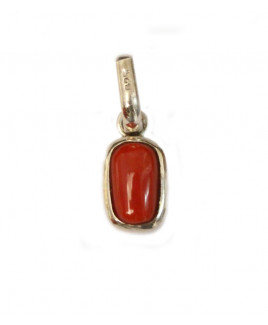 Red Coral Pendant - (RCP-009)