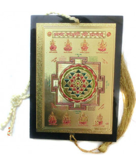 Hanging Ashta Laxmi/ Lakshmi Yantra - 10 cm