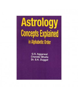 Astrology Concepts Explained in Alphabetic Order by S. K. Duggal (BOAS-0198)