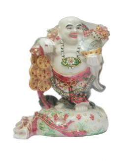 Bejeweled Laughing Budhha - 26 cm (FELB-003)