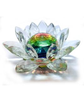 Crystal Lotus - 12 cm