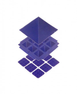 Blue Pyramid - 13 cm (PYBE-001)