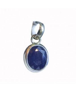 Blue Sapphire (Neelam ) Pendant -(BSP-006)