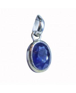 Blue Sapphire (Neelam ) Pendant -(BSP-009)