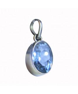 Blue Topaz Pendant -(BTP-002)