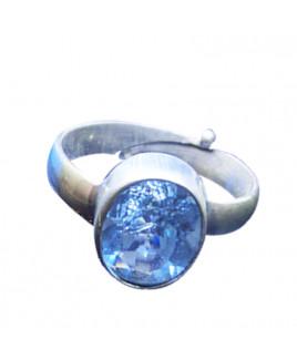 Blue Topaz Ring -(BTR-003)