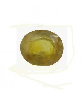 Yellow Sapphire (Pukhraj) Oval Mix Gemstone - 6.45 Carat (YS-66)