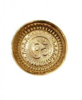 Brass Puja Thali / Plate - 20 gm (DIBP-003)