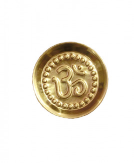 Brass Puja Thali / Plate - 12 gm (DIBP-001)