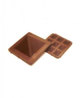 Brown Pyramid - 3 cm (PYBN-001)