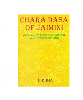 Char Dasha of Jaimini in English by U. K. Jha -(BOAS-0944)