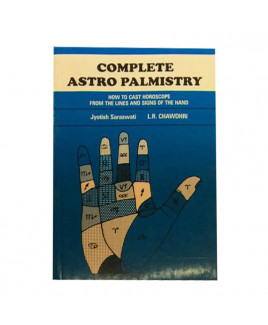Complete Astro Palmistry in English -(BOAS-0863)