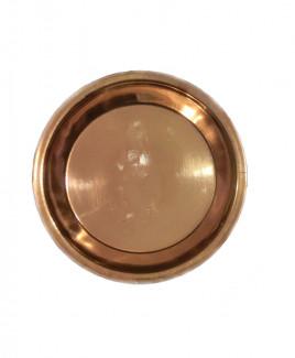 Copper Puja Thali / Plate - 66 gm (DICP-003)