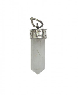Crystal Quartz Pencil Pendant (HEQP-001)