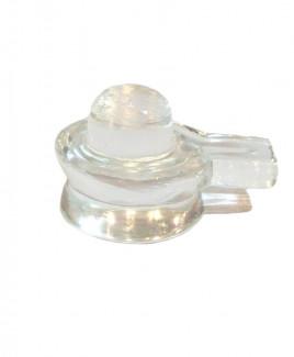 Crystal Shivling - 178 gm (CRSH-009)