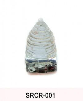 Crystal Sumeru Shree Yantra - 80 gm (SRCR-001)