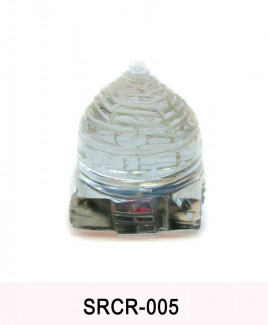 Crystal Sumeru Shree Yantra - 32 gm (SRCR-005)