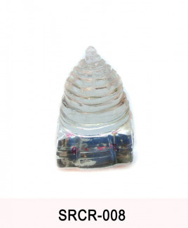 Crystal Sumeru Shree Yantra - 33 gm (SRCR-008)