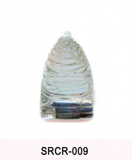 Crystal Sumeru Shree Yantra - 35 gm (SRCR-009)