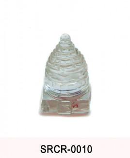 Crystal Sumeru Shree Yantra - 30 gm (SRCR-010)