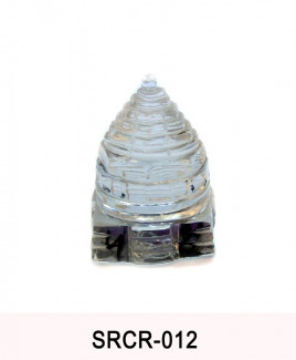 Crystal Sumeru Shree Yantra - 46 gm (SRCR-012)