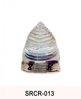 Crystal Sumeru Shree Yantra - 43 gm (SRCR-013)