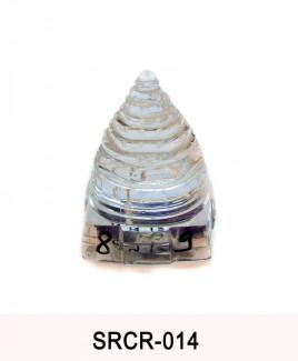 Crystal Sumeru Shree Yantra - 89 gm (SRCR-014)