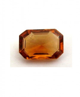 Natural Citrine (Sunela) Octagon Step - 3.20 Carat (CT-20)