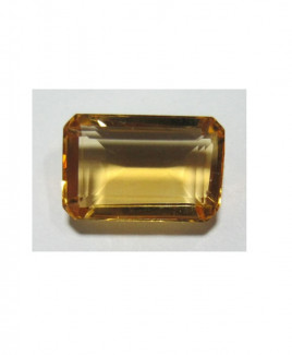 Natural Citrine (Sunela) Octagon step - 5.15 Carat (CT-22)