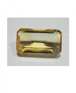 Natural Citrine (Sunela) Octagon step - 3.80 Carat (CT-23)