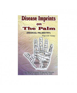 Disease Imprints On The Palm -Paperback-  (BOAS-0675)