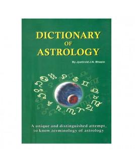 Dictionary of Astrology -Hardbound- (BOAS-0676)