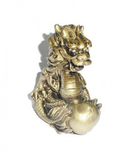 Dragon with Globe - 9 cm
