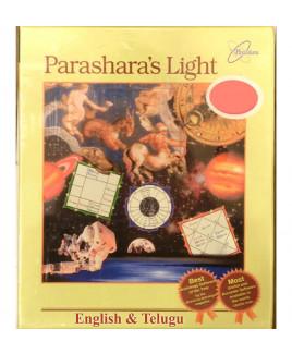 Parashara's Light 9.0 Professional Edition (English & Telugu Language) Astrology Software (PLAS-016)
