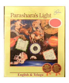Parashara's Light 7.0.3 Commercial Edition (English & Telugu Language) Astrology Software (PLAS-022)
