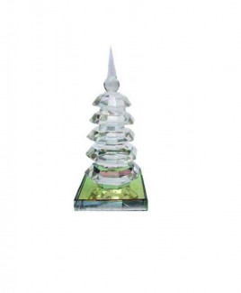 Crystal Pagoda/ Education With 5 Towers.