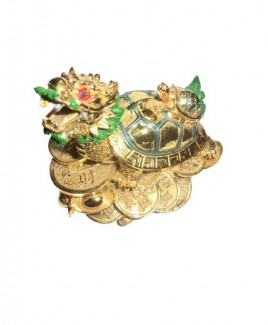 Dragon with Tortoise - 11 cm (FEDT-001)