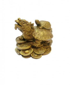Dragon with Tortoise - 7 cm (FEDT-002)