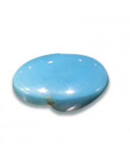 Natural Firoza (Turquoise) Oval Cabochon Gemstone - 9.00 Carat (FI-06)