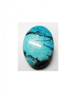 Natural Feroza (Turquoise) Oval Cabochon - 18.79 Carat (FI-07)