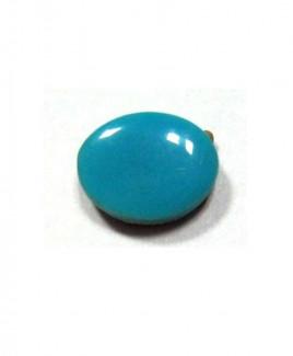 Natural Feroza (Turquoise) Oval Cabochon - 5.05 Carat (FI-17)