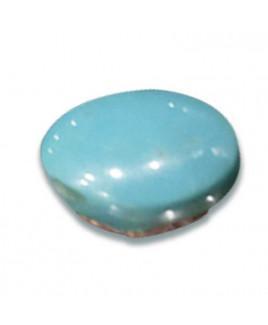 Natural Feroza (Turquoise) Oval Cabochon Gemstone - 7.35 Carat (FI-41)