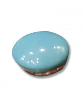Natural Feroza (Turquoise) Oval Cabochon Gemstone  15.05 - Carat (FI-49)
