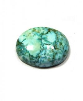 Natural Feroza (Turquoise) Oval Cabochon - 16.15 Carat (FI-54)