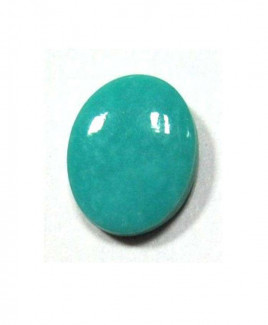 Natural Feroza (Turquoise) Oval Cabochon - 12.15 Carat (FI-61)