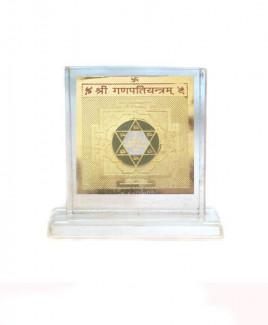 Ganesh Yantra - 7 cm (YAGNF-004)