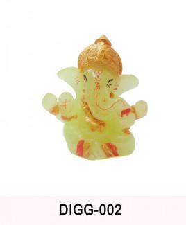 Ganesha / Ganpati (Radium) - 6 cm (DIGG-002)
