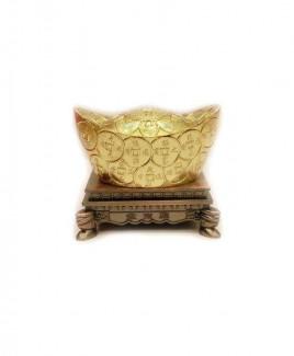 Ingots on Stand (Golden) - 5 cm