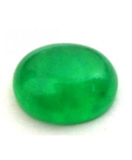 Natural Green Quartz Oval Cabochon Gemstone  3.80 Carat (GQ-05)