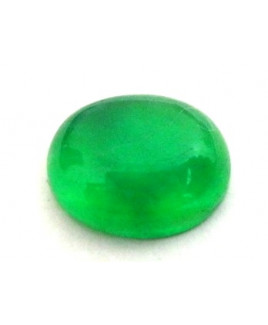Natural Green Quartz Oval Cabochon Gemstone  3.60 Carat (GQ-08)